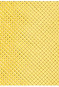 Kravatte Gitter-Oberfläche gelb