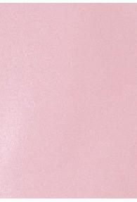 Kravatte einfarbig Poly-Faser rosa