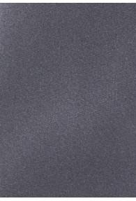 Kravatte monochrom Poly-Faser dunkelgrau