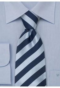 Krawatte blau und nachtblau
