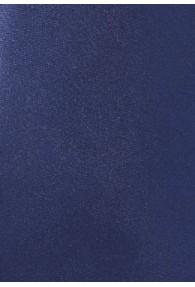 Krawatte monochrom Mikrofaser dunkelblau
