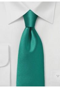 Krawatte italienische Poly-Faser dunkelgrün
