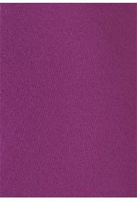 Krawatte unifarben Mikrofaser purpur