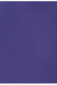 Krawatte unifarben Mikrofaser violett
