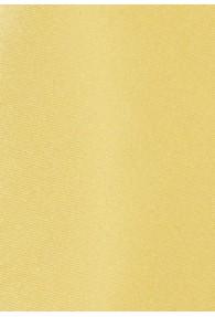 Krawatte unifarben Kunstfaser blassgelb
