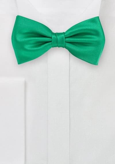 Herrenschleife tannengrün Poly-Faser