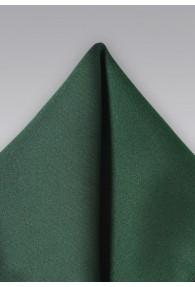 Einstecktuch Poly-Faser edelgrün