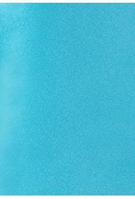 Businesskrawatte italienische Seide aqua monochrom