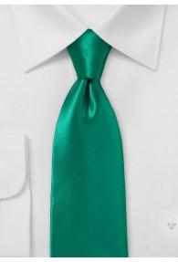 Kravatte italienische Seide tannengrün einfarbig