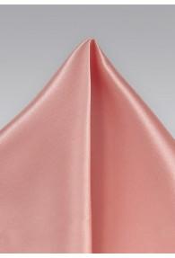 Kavaliertuch italienische Seide unifarben rosé