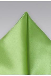 Ziertuch italienische Seide unifarben waldgrün