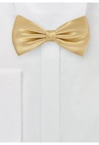Herrenfliege unifarben gold italienische Seide