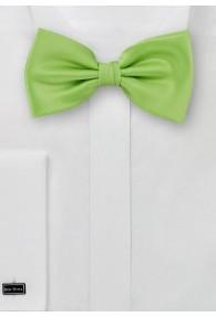 Herren-Schleife unifarben apfelgrün italienische