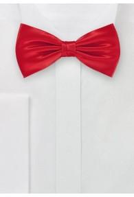 Herrenfliege unifarben rot italienische Seide