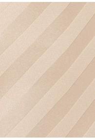 Streifen-Kravatte lachs
