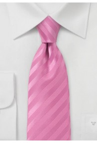 Linien-Kravatte pink