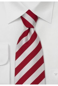 XXL-Krawatte rot weiß