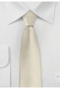 Moulins schmale  Krawatte in champagner