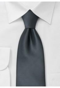 XXL-Krawatte anthrazit