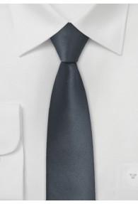 Krawatte schmal  anthrazit