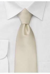 Moulins Clip-Krawatte in champagner