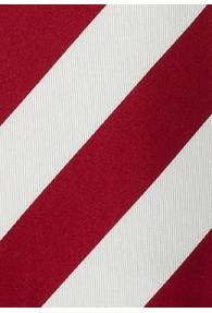 Krawatte Streifen rot weiß