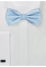 Schleife hellblau Kunstfaser