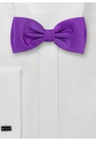 Herren-Schleife violett Kunstfaser