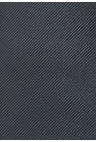 Kinder-Krawatte gerippte Struktur dunkelgrau