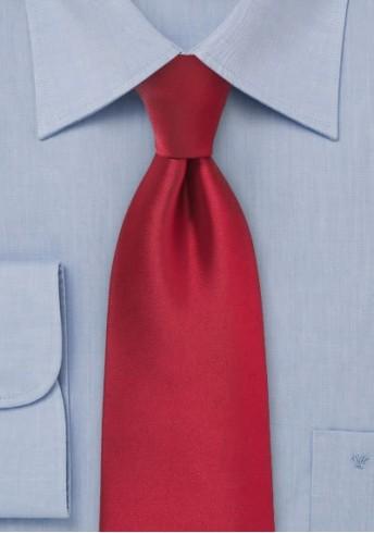 Stylische Herrenkrawatte rot Kunstfaser