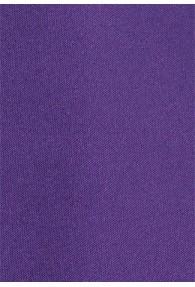 Auffallende Kravatte lila Mikrofaser