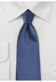 Modische Krawatte blau Kunstfaser
