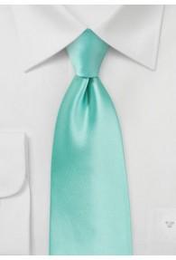 Stylische Krawatte mint Poly-Faser