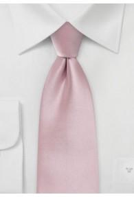 Auffallende Krawatte rose Kunstfaser