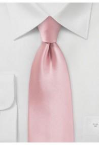 Modische Krawatte rosa Kunstfaser