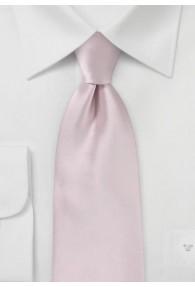 Auffallende Krawatte rose Poly-Faser