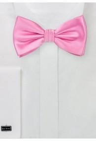 Schleife Kunstfaser rosa uni