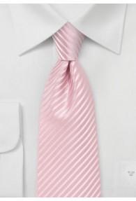 Herrenkrawatte abgestuft streifengemustert rosa