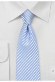 Kravatte abgestuft gestreift hellblau