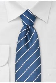 Elegance Krawatte königsblau XXL