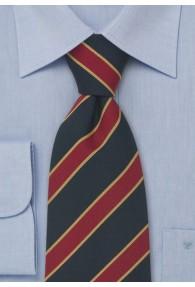 Britische Krawatte blau rot gold