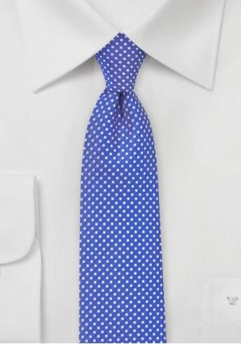 Krawatte feine Punkte blau