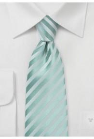 Krawatte Streifen mint Ton in Ton