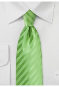 Krawatte Streifen grün abgestuft