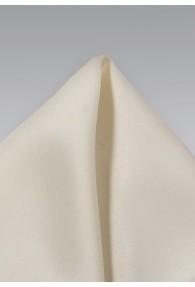 Kavaliertuch perlmuttfarben Kunstfaser