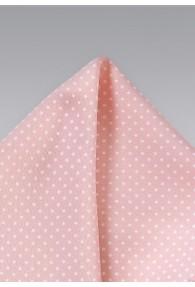 Kavaliertuch rosa Tupfen