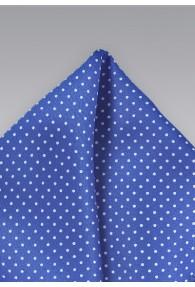 Kavaliertuch blau Punkte