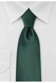 XXL-Krawatte in dunkelgrün
