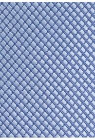 Kravatte Struktur hellblau