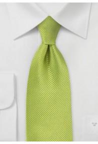 Krawatte strukturiert grün